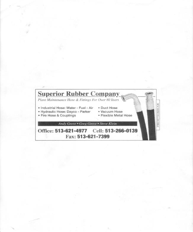 Superior Rubber Cincinnati Hose